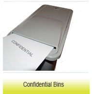 Confidential bins